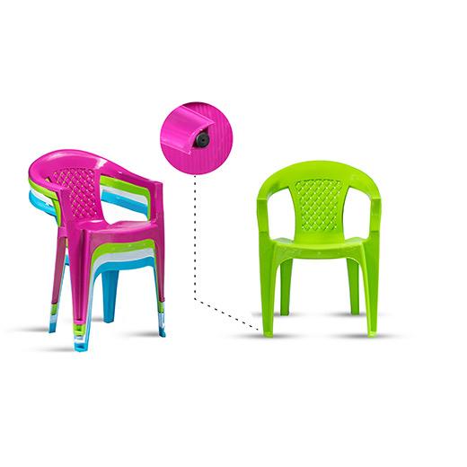 chaises en plastique sfoi avec embout antid rapant sfoi. Black Bedroom Furniture Sets. Home Design Ideas